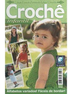 Crochê infantil 01 arteseencantos blogspot com  arteseencantos.com.br