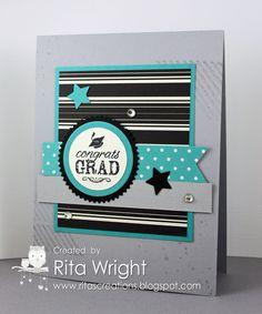 Rita's Creations: Stampin' Up! Blue Ribbon
