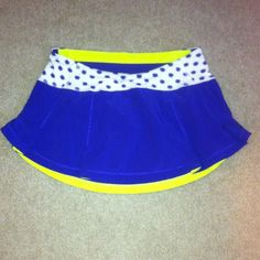 Lululemon Skirt Running or tennis skirt. Like new. Pet free smoke free home lululemon athletica Other