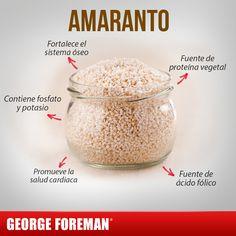 ¡Checa todos los beneficios nutricionales que te brinda! #georgeforemanmx #beneficios #amaranto #mujer #alimentos