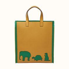 Animal bag | Hermès USA Animal Bag, Hermes, Color Schemes, Bag Men, Tote Bag, Canvas, Unique, Leather, Bags