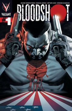 Bloodshot: Vin Diesel Reportedly in Talks for Comic Movie  Vin Diesel is reportedly in talks to star in Sony Pictures' film adaptation of the Valiant comic book Bloodshot.  TheWrap reports Diesel is up for the main role ofAngelo Mortalli (aka Bloodshot). Once a ruthless killer for the mob Mortalli eventually becomes the super-soldier known as Bloodshot after beingenhanced with nanotechnology. Kevin Van Hook Don Perlin and Bob Layton created the character in 1992.  IGN has reached out to Sony…