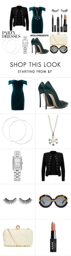 """Ashley"" by afia-asamoah on Polyvore featuring Nicholas, Lily Charmed, Baume & Mercier, Anette, Karen Walker, GUESS by Marciano, NYX, Christian Dior, Guerlain and contestentry"