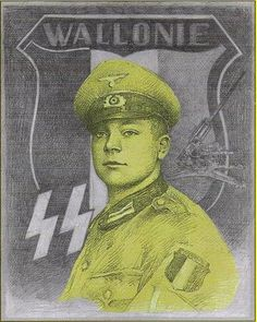 Léon Degrelle - Wallonie. Léon Joseph Marie Ignace Degrelle (1906-1994) was a Walloon Belgian politician and Nazi collaborator, who founded Rexism and later joined the Waffen SS (becoming a leader of its Walloon contingent). After World War II, he was a prominent figure in fascist movements.