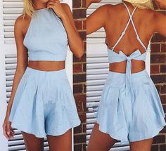 Lovely sleeveless piece suit dress WE72109PO