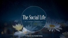 The Social Life in Jannah - YouTube Paradise, Youtube, Movies, Movie Posters, Life, Films, Film Poster, Cinema, Movie
