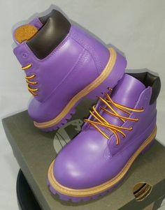 cb76ccd4267 Purple Timberland Boots- Custom Timberlands- Mens- Womens- Kids Timberlands