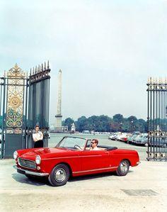 Peugeot 404 cabriolet, the second most beautiful car in the world Peugeot 404, Psa Peugeot Citroen, Retro Cars, Vintage Cars, Antique Cars, Vintage Auto, French Classic, Classic Cars, Classic Auto