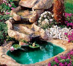 11 Εντυπωσιακά συντριβάνια για τον κήπο σου! | exypnes-idees.gr Backyard Landscaping, Landscape Design, Water, Garden Ideas, Gardening, Outdoor, Google, Gripe Water, Outdoors