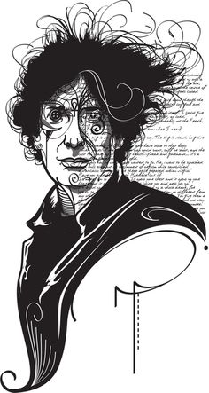 Neil Gaiman by Gui Soares  Anything and everything by Neil Gaiman;)