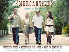 Mercantile ~ Seaside, Florida... Great Local Store, lots of cool stuff, and many fashions are made by LOCAL designers...  :)
