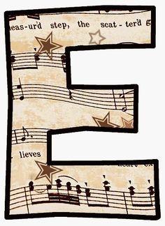 Alfabeto de notas musicais