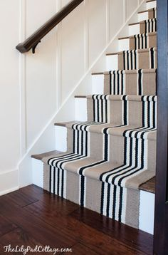 Stair runner and Lam
