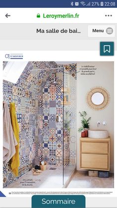 the sky from your bathroom, you dream? See the sky from your bathroom, you dream? Bad Inspiration, Bathroom Inspiration, Bathroom Design Small, Bathroom Interior Design, Indian Homes, New Home Designs, Trendy Home, Interior And Exterior, Sweet Home