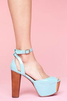 Perfect Platform #jeffreycampbell
