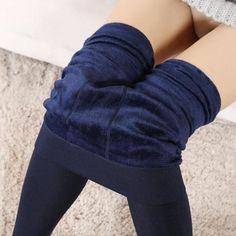 Old street Winter Leggings Knitting Velvet Legging High Elastic Thicken Lady's Warm Pants Skinny Pants for Women Leggings Fleece Leggings, Winter Leggings, Warm Leggings, Leggings Sale, Velvet Leggings, Seamless Leggings, Leggings Are Not Pants, Warm Pants, Velvet Pants