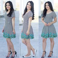 { Look do Dia: Dress Fofo da @ingridbehrmann ❤ em duas versões  sapatilha e salto} Gostaram amores? www.ingridbehrmann.com.br/lojavirtutal ✅@ingridbehrmann ✅@ingridbehrmann  #blogdapaola