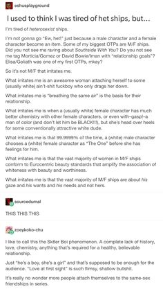 """I saw a commercial once for a romantic movie or something and the white male main character said """"I wanted to marry you from the moment I saw you"""" or smth to the white female love interest and I was like??? You didn't even know her?"""