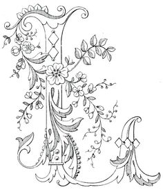 Magic Coloring - Games And Coloring Pages For Kids and Adults. Alphabet Coloring Pages, Colouring Pages, Adult Coloring Pages, Coloring Books, Embroidery Letters, Embroidery Stitches, Hand Embroidery, Machine Embroidery, Creative Lettering