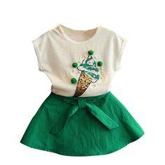36c472568f40 Ice Cream Dress. Girls Fashion ClothesKids ...