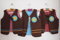 cowboy vest - diy - pattern: zsazsazilet