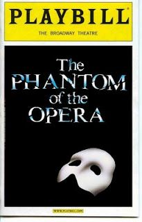 I got to see Phantom of the Opera: I sat in the first row orchestra seats (I was nervous I'd kick the conductor if I tried to put my leg up to cross my legs) AND I got to go back stage and meet the cast, see the stage and props because our friend's violin teacher was in the pit orchestra