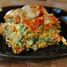 fresh veggie lasagne primavera