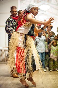 ik houd echt voor Afrika dansen.