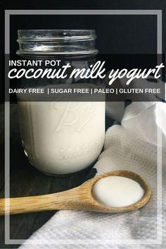 16 Ideas dairy free yogurt recipe kids for 2019 Dairy Free Pizza, Dairy Free Yogurt, Dairy Free Diet, Dairy Free Recipes, Real Food Recipes, Vegan Recipes, Gluten Free, Locarb Recipes, Atkins Recipes