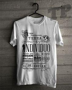 Camiseta TP - Ayn Rand - Minorias - Loja EPL - Tomando Partido
