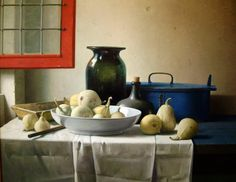 Henk Helmantel (born is one of today's most popular and successful realist painters from the Netherlands. Dutch Still Life, Still Life 2, Still Life Images, Still Life Fruit, Still Life Flowers, Be Still, Realistic Paintings, Paintings I Love, Beautiful Paintings
