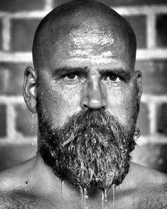 No Words, Just beard - Beard of the Week Bald Men With Beards, Bald With Beard, Grey Beards, Long Beards, Moustache, Beard No Mustache, Beard Styles For Men, Hair And Beard Styles, Style Hommes Chauves
