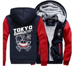 Tokyo ghoul Hoodie Anime Ken Kaneki Mask Thick Coat Jacket Sweatshirt New Style Winter Casual brand fleece men long sleeve hoody //Price: $51.35 & FREE Shipping //   #naruto #anime