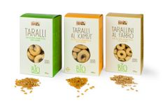 Pack taralli e tarallini Bio// Client: Puglia Sapori // more on: www.idemdesign.it/graphic/