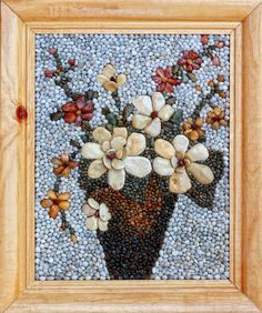 Mosaic Pebble Art Original Mosaic Wall picture by PebbleShellArt