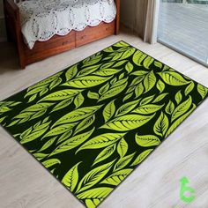 New Bright Leaves Pattern Blanket