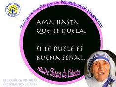 GOTA CATÓLICA: Frases de Madre Teresa de Calcuta
