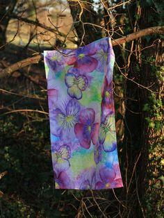 Designer tea towel by CatrinSaywell on Etsy