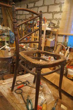 Реставрация пяти стульев Тонет - Ярмарка Мастеров - ручная работа, handmade