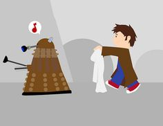 Doctor vs Dalek pt1