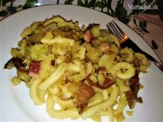 Krútence (fotorecept) Macaroni And Cheese, Cooking Recipes, Meat, Chicken, Baking, Ethnic Recipes, Food, Mac Cheese, Beef