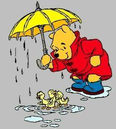 Winnie and the ducks