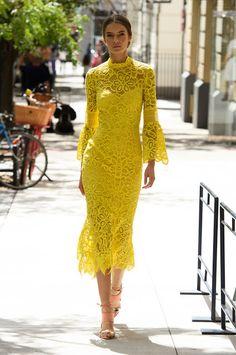 Fashion fan blog from industry supermodels: Dasha Denisenko - Lela Rose ss17…