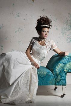 Grace Wedding Dress – Terry Fox Classic With A Twist 2011 Collection