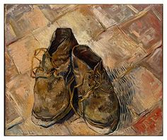 VINCENT VAN GOGH (1853-1890) 'Shoes', 1888 (oil on canvas)