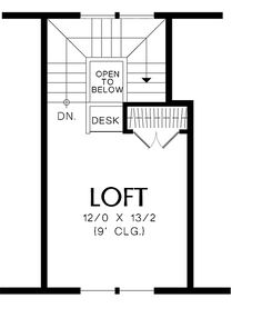 Abbeville House Plan - second floor - 950 sq ft Small Cottage Homes, Cottage Plan, Small Homes, Basement Floor Plans, House Floor Plans, Modern House Plans, Small House Plans, Custom Home Designs, Custom Homes