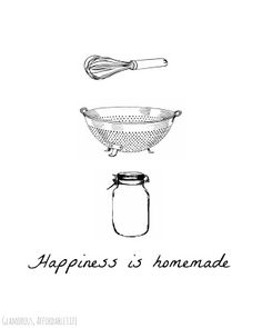 Glamorous, Affordable Life: { Kitchen Art Printable }