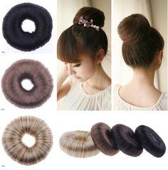 hair bun accessories online - Yahoo Image Search Results Donut Bun, Hair Donut, Hair Rings, Hair Band, Bow Accessories, Accessories Online, Ponytail Holders, All Fashion, Bun Hairstyles