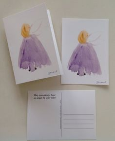Watercolorcards 2016, sign by Gabriella Alanko