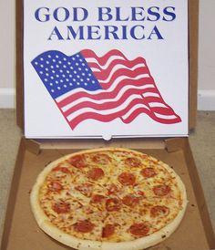 Patriotic Pizza
